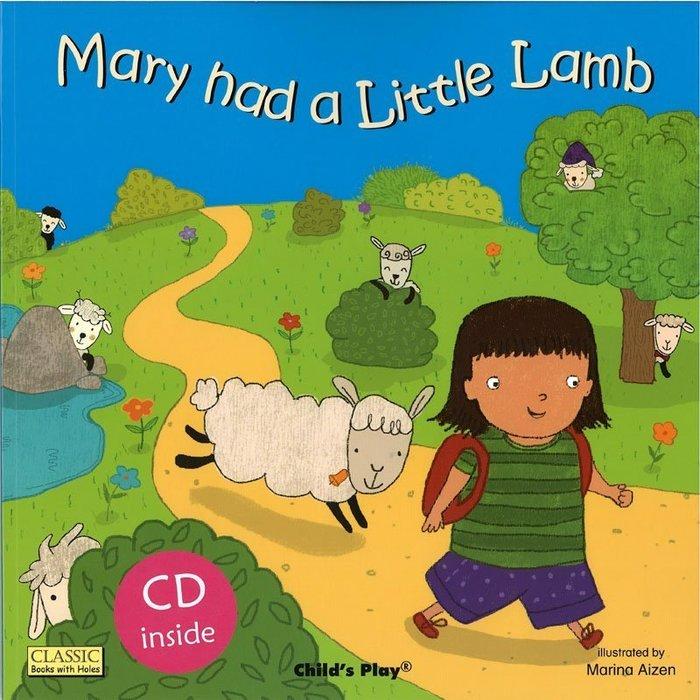 *小貝比的家*MARY HAD A LITTLE LAMB /平裝書+CD/3-6歲/歌唱繪本