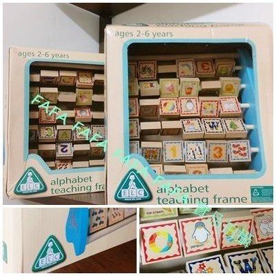 ~FAFA 賣雜貨~出口品牌 英文數字學習翻板架 彩色盒裝 現貨