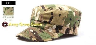 H01 美軍 新款  US ARMY 户外防曬 實用 平頂 軍帽 貨車帽 男女可用  迷彩 軍事帽 7色入 $88
