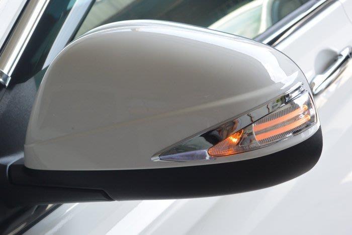 金強車業 LUXGEN  U6 2014-ON  日行燈 改裝後視鏡殼  (白235) 雙功能側燈 小燈 方向燈