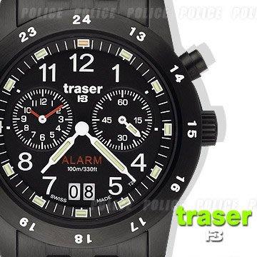 丹大戶外用品【Traser】Traser CLASSIC ALARM BD鬧鈴計時錶#100264