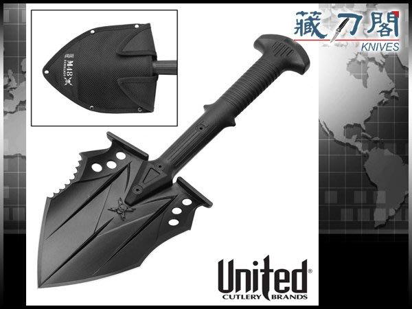 《藏刀閣》UNITED-(UC2979)M48突擊戰術鏟
