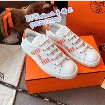 HERMES愛馬仕Avantage運動鞋 小白鞋 情侶鞋 H201114Z 91385