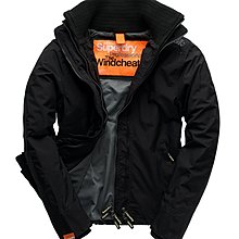 全新真品極度乾燥Superdry Technical Windcheater Black 風衣外套(真品無剪標)