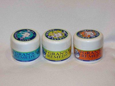 【瑪姬阿姨】紐西蘭Gran's Remedy 100%天然草本芳香除腳臭鞋臭粉 微香/柑橘-橘色罐 50g 降價拚市佔