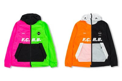 F.C.Real Bristol AW19 SEPARATE PRACTICE JACKET 兩色