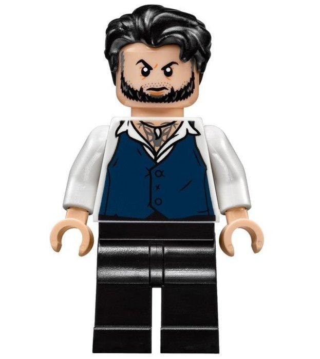 現貨【LEGO 樂高】全新正品 積木 / 超級英雄系列 76100 | 人偶拆賣:反派 Ulysses Klaue+武器