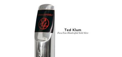 §唐川音樂§【Ted Klum FocusTone Handcrafted Solid Silver 次中音純銀 吹嘴】