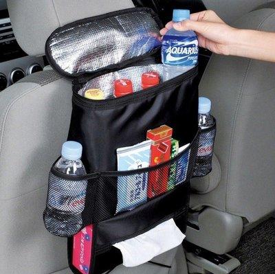 Lovus-新款保溫保冰飲料食物汽車後背掛袋收納袋