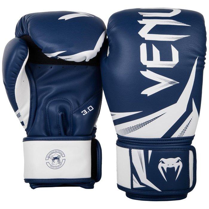 【神拳阿凱】VENUM 毒蛇 03525 Challenger 挑戰者 3.0 拳擊手套 藍白(免運)