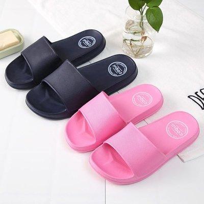 家居鞋 棉鞋酷趣涼拖鞋女夏季情侶簡約家居家用室內厚底防滑洗澡浴室拖鞋男士
