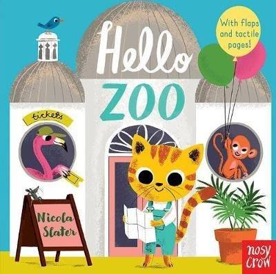 全新 現貨 Hello Zoo (with flaps and tactile pages!) 翻翻書