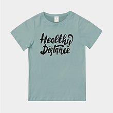 T365 MIT 台灣製造 CORONAVIRUS HEALTHY DISTANCE 黑白 親子裝 童裝 T恤 T 短T