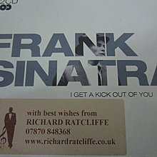 Frank Sinatra -  I get a kick out of You  英版  2CD 精選