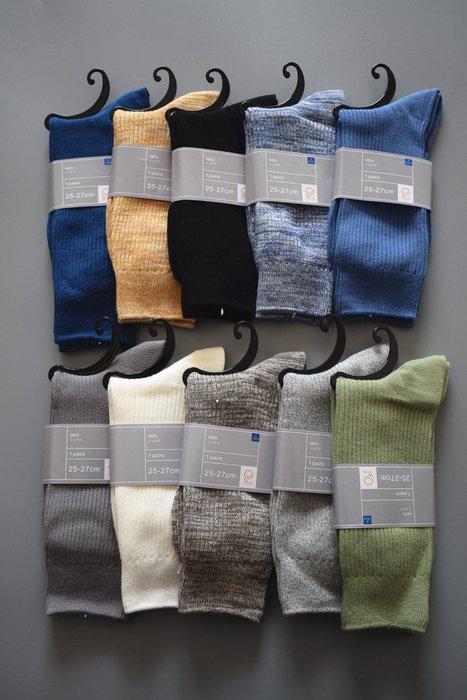 日本男士除臭襪夏季純棉中統襪 薄款簡約純色日本男襪 棉襪 紳士襪 日本男襪 5雙950