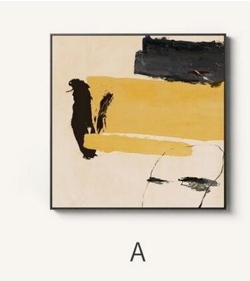 ZIHOPE 仟象映畫 現代抽象客廳裝飾畫 簡約創意玄關掛畫壁畫餐廳墻畫原創ZI812