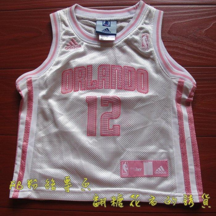 NBA官網ADIDAS正品小孩兒男童運動背心籃球衣球魔獸豪爾德 HOWARD 魔術隊男童青年版親子裝全家福