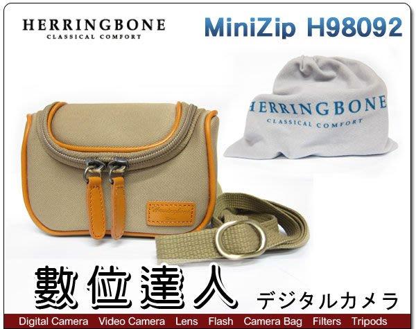 【數位達人】現貨 Herringbone MiniZip h98092 真皮相機包 米色 類單眼相機包 / 1