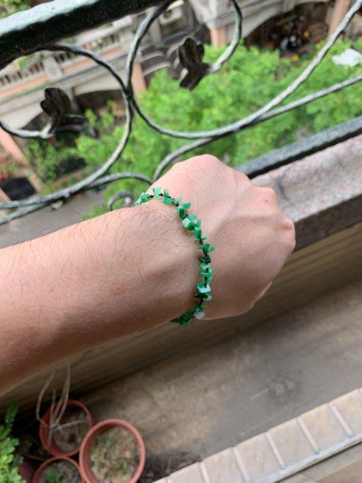 翡翠A貨~辣綠隨型手鍊~手串~珠鍊~珠子~直購
