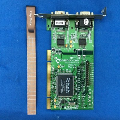 brainboxes JAT UC-257B PCI RS232 Serial Adapter 板 401