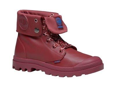 =CodE= PALLADIUM MONO CHROME BAGGY WP 防水皮革軍靴(酒紅)73966-694 男女