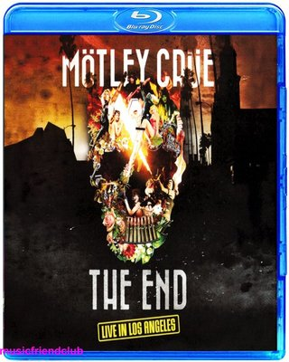 高清藍光碟 Motley Crue The End Live in Los Angeles (藍光BD50)
