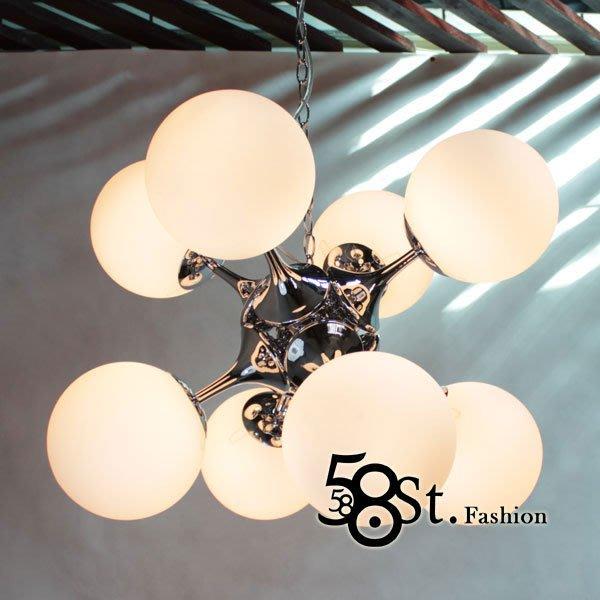 【58街】「Dynamics 動力學吊燈,弔燈」美術燈,複刻版。GH-272