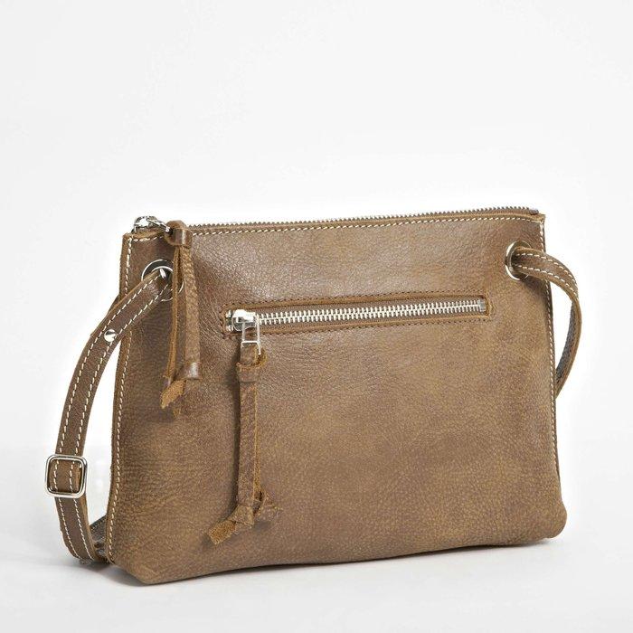 ~☆.•°莎莎~*~☆~ 加拿大ROOTS Edie Bag Tribe 艾迪側背包~現貨