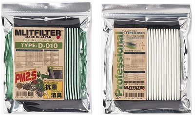 [寰群國際] SUBARU速霸陸用~ MLITFILTER 綠魔俠 D-010日本PM2.5濾網