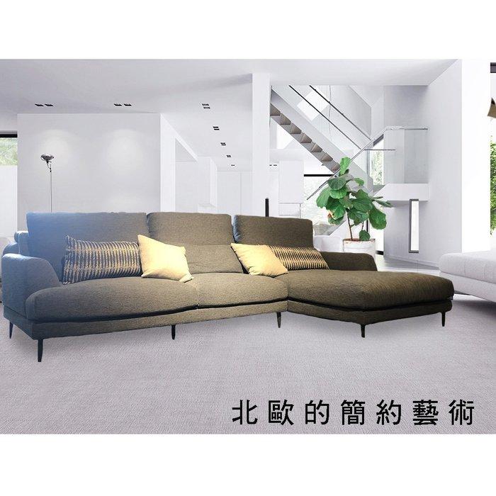 【大熊傢俱】(GM)C40 L型沙發  布沙發 L型 沙發床  沙發 布藝沙發