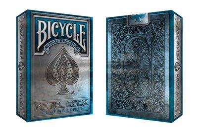 【USPCC撲克】Bicycle Metal Deck (Blue)