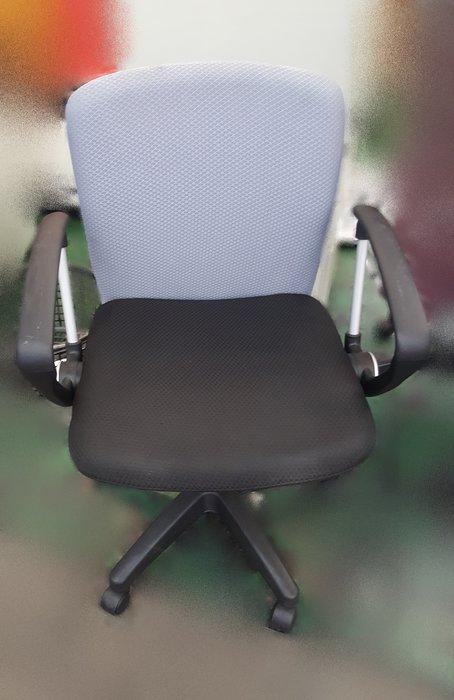 【宏品二手家具館】 辦公傢俱賣場大特賣 F11296*黑灰色布辦公椅* 書桌椅 電腦椅 主管桌椅 會議椅