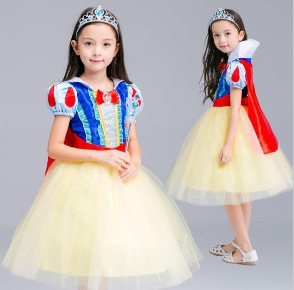 萬聖節服裝,萬聖節裝扮,聖誕舞會,兒童變裝服-公主服-蓬蓬裙白雪公主/白雪公主服裝