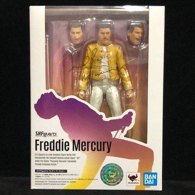 萬代 SHF 皇后樂隊QUEEN 主唱 Freddie Mercury 佛萊迪 牙叔