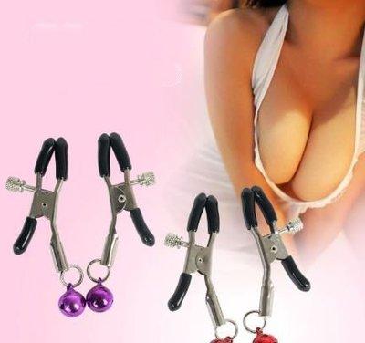 情趣成人情趣用品 鈴鐺乳夾調情前戲玩具鈴鐺乳夾C80
