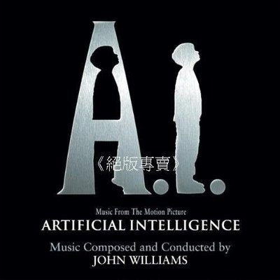 《絕版專賣》A.I. 人工智慧 / Artificial Intelligence 電影原聲帶