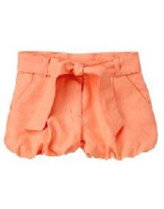 (((出清特價))) 美國 JANIE AND JACK 甜橙腰帶泡泡褲 (10yrs)