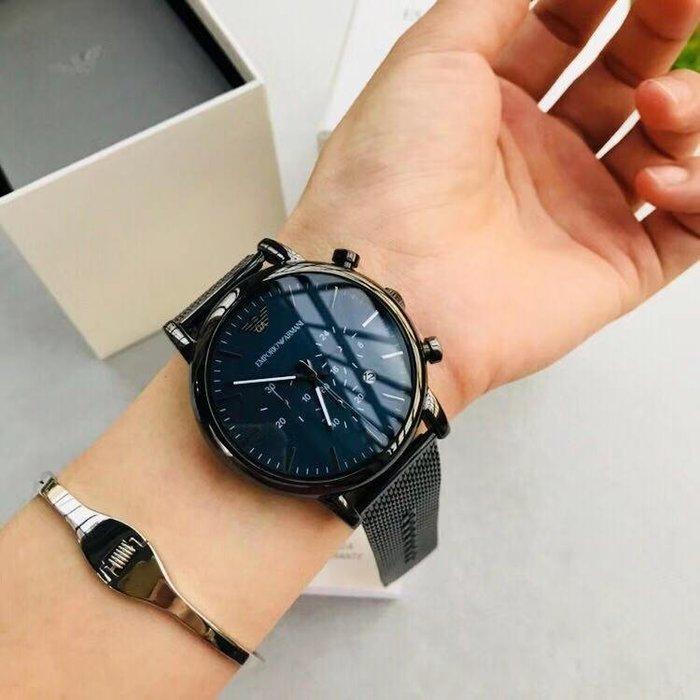 ARMANI 全新男士手錶 附盒子 禮品袋