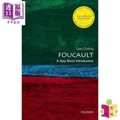 [文閲原版]福柯(牛津通識讀本)英文原版 Foucault: A Very Short Introduction / G