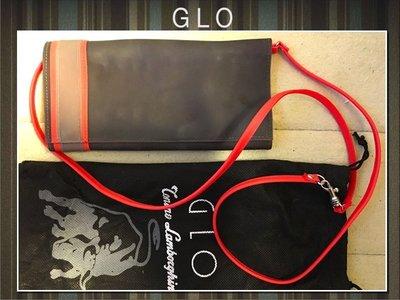 GLO 果凍包 防水可洗 灰色橘色 彩色撞色包 長夾 肩背包斜背包 手拿包 多卡隔層 磁扣 可拆式肩帶 廉價售 台中市