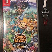 2手Switch Game - The Snack World 9成新 日文版