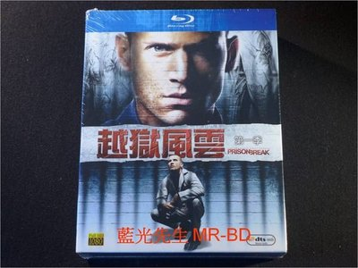 [藍光BD] - 越獄風雲 : 第一季 Prison Break : The Complete First Season 六碟裝 ( 得利公司貨 )
