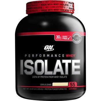 宙斯健身網-ON PERFORMANCE WHEY ISOLATE 分離乳清蛋白4.5磅(香草) + 塑膠杯