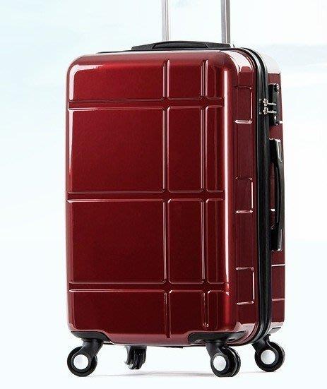 2018新款男女行李箱子旅行箱拉鏈密碼箱萬向輪(26吋)
