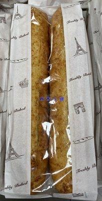 美兒小舖COSTCO好市多代購~香蒜長棍麵包(2入/包,共450g)使用日本進口昭和專用麵粉製作