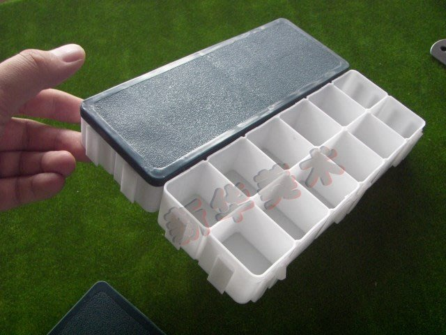 聚吉小屋 #可組合繪畫加深12格 防干 防溢 軟蓋調色盒 色彩 繪畫 寫生調色盒
