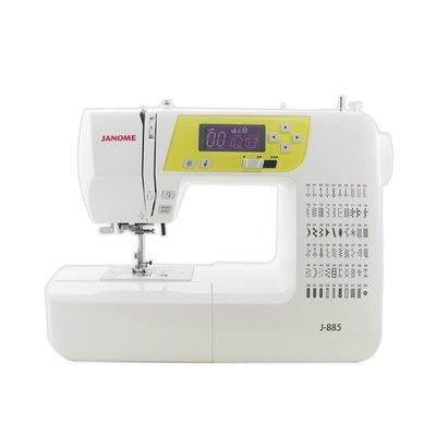 【優質服務品質保證】車樂美 JANOME 縫紉機 J885、J890 再送輔助板 全新公司貨 可議價
