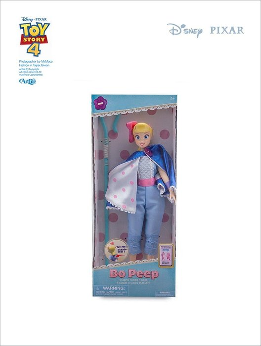 "ArtLife @ PIXAR TOYSTORY4 Bo Peep Talking 迪士尼 玩具總動員4 牧羊女 14"""