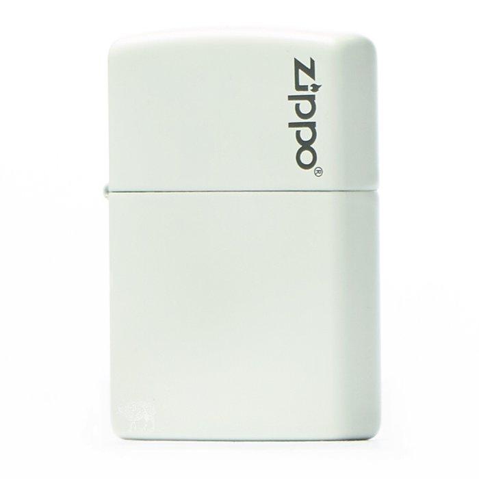 黑羊選物 Zippo 象牙白素面基本款 logo小標 美國原廠 烤漆質感 多色可挑 經典配件 菸友必備 適合送禮