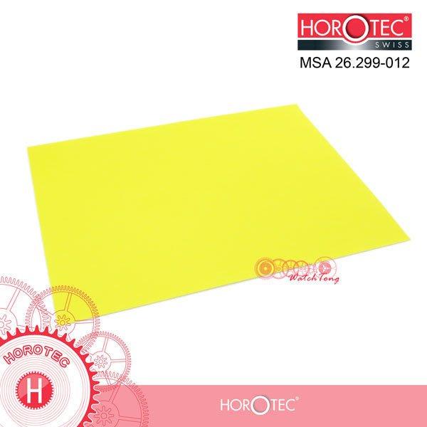 瑞士HOROTEC 》26.299-012 奈米 研磨紙_12um 黃色 / A4 尺寸 210x297mm